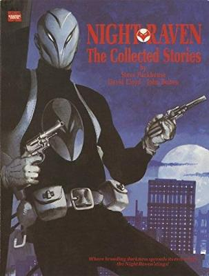 Night Raven: From The Marvel UK Vaults book