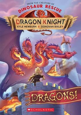 Dragon Knight #4 Dragons! by Kyle Mewburn