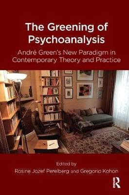 Greening of Psychoanalysis book