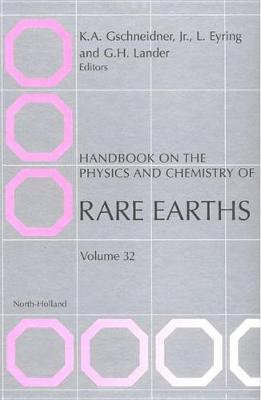 Handbook on the Physics and Chemistry of Rare Earths book