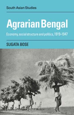 Agrarian Bengal book