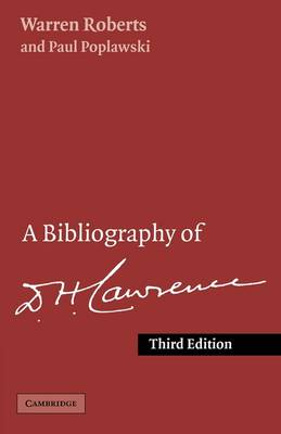 Bibliography of D. H. Lawrence by Paul Poplawski