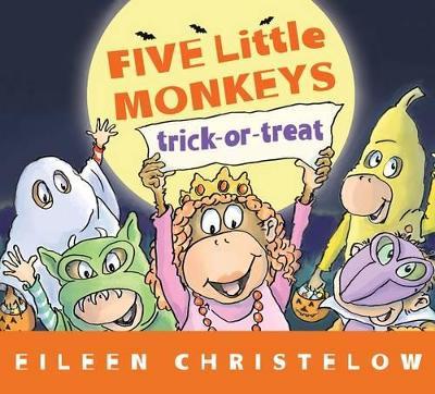 Five Little Monkey Trick or Treat book