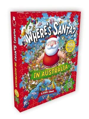 Where's Santa in Australia Jigsaw by Louis Shea