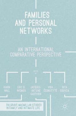 Families and Personal Networks by Professor Eric D. Widmer