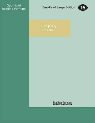 Legacy by Tim Cahill