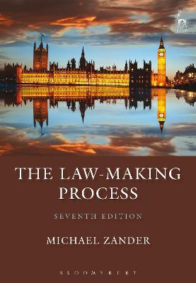 The Law-Making Process by Professor Michael Zander