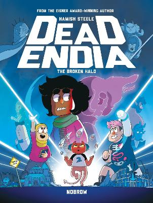 DeadEndia: The Broken Halo book