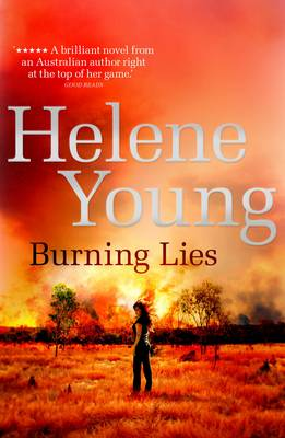 Burning Lies book