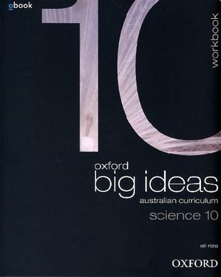 Oxford Big Ideas Science 10 Australian Curriculum Workbook book