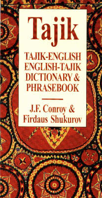 Tajik-English / English-Tajik Dictionary & Phrasebook book
