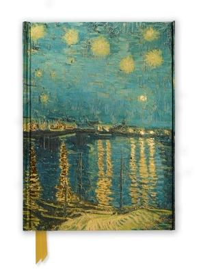 Van Gogh: Starry Night over the Rhone (Foiled Journal) by Flame Tree Studio