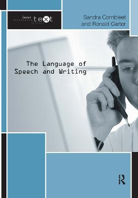 The Language of Speech and Writing book