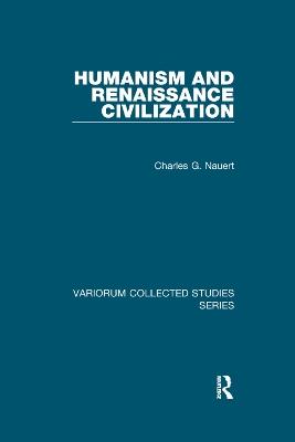 Humanism and Renaissance Civilization book