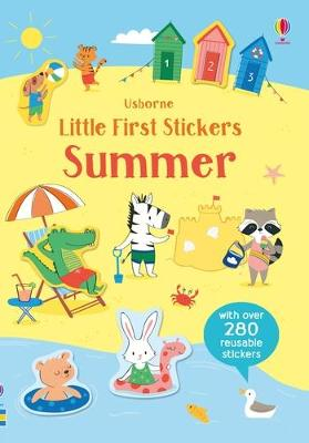 Little First Stickers Summer book