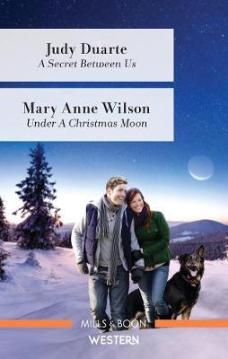 A Secret Between Us/Under a Christmas Moon book