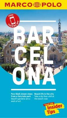 Barcelona Marco Polo Pocket Travel Guide 2018 - with pull out map book