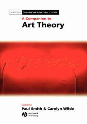 Companion to Art Theory by Paul Smith