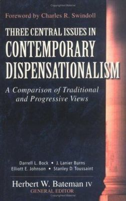 Three Central Issues in Contemporary Dispensationalism book