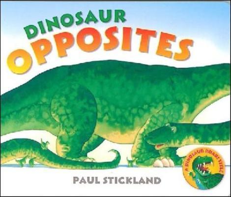 Dino Board: Dinosaur Opposites by Paul Stickland