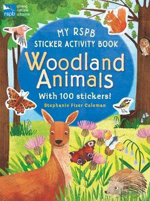 My RSPB Sticker Activity Book: Woodland Animals by Eryl Nash