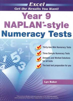 NAPLAN-style Numeracy Tests: Year 9 by Lyn Baker