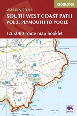 South West Coast Path Map Booklet - Plymouth to Poole book