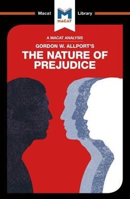 Nature of Prejudice book