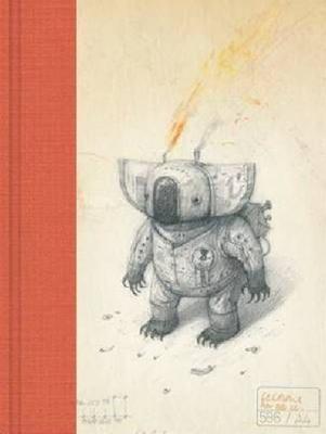 Luxury Blank Journal 2 Red: Paraffin Oil Koala by Shaun Tan