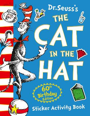 Cat in the Hat Sticker Activity Book by Dr. Seuss