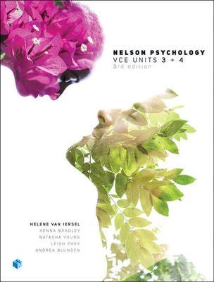 Nelson Psychology VCE Units 3 & 4 (Student Book with 4 Access Codes) by Helene Van Iersel