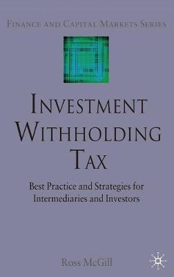 Investment Withholding Tax book