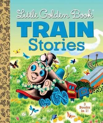 Little Golden Books Train Stories book