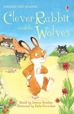 Clever Rabbit And Wolves by Susanna Davidson
