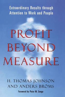 Profit Beyond Measure book