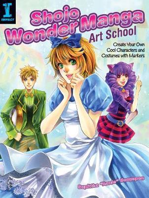 Shojo Wonder Manga Art School book