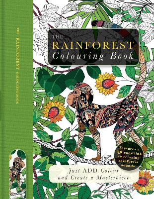 Rainforest Colouring Book by Beverley Lawson