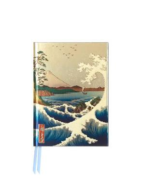 Hiroshige: Sea at Satta (Foiled Pocket Journal) book