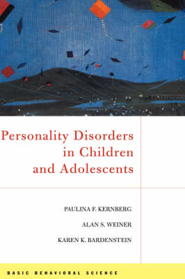 Personality Disorders In Children And Adolescents book