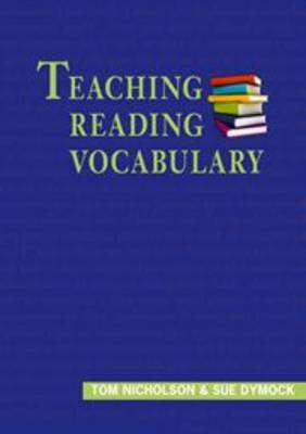 Teaching Reading Vocabulary by Tom Nicholson