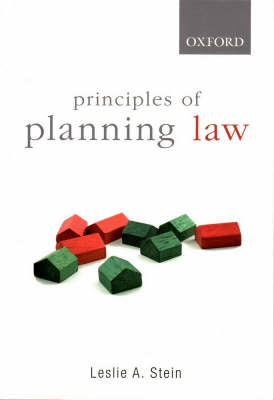 Principles of Planning Law book