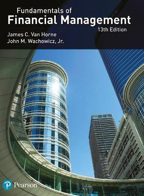 Van Horne:Fundamentals of Financial Management book