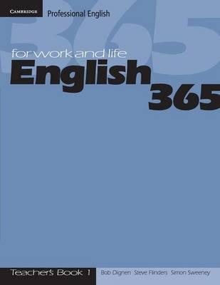 English365 1 Teacher's Guide by Bob Dignen