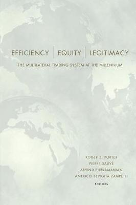 Efficiency, Equity, and Legitimacy by Roger B. Porter