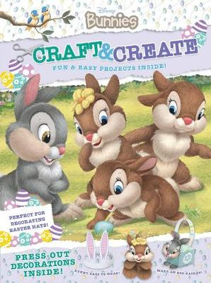 DISNEY BUNNIES CRAFT & CREATE book