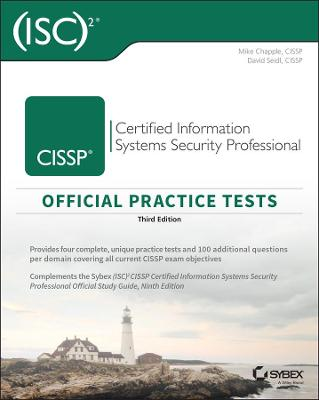 (ISC)2 CISSP Certified Information Systems Security Professional Official Practice Tests book