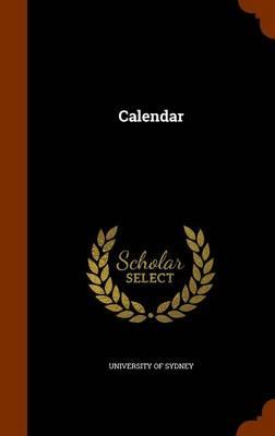 Calendar by University of Sydney