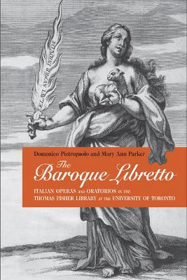 Baroque Libretto by Mary Ann Parker