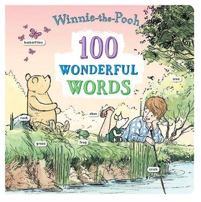 100 Wonderful Words: 100 Wonderful Words by Winnie-the-Pooh