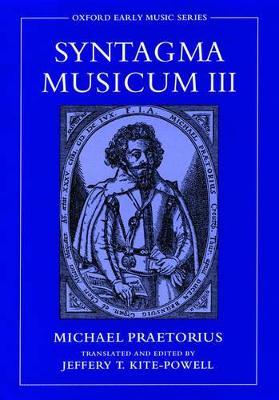 Syntagma Musicum III by Michael Praetorius